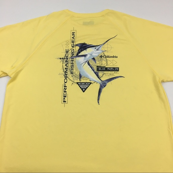 be245dc2f8f Columbia Shirts | Pfg Tee Fishing Graphic T Shirt Size L | Poshmark